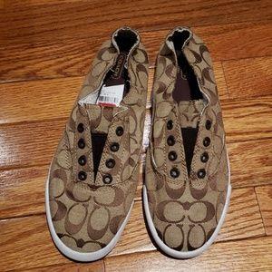 Coach Katie slip on sneaker nwt size 10